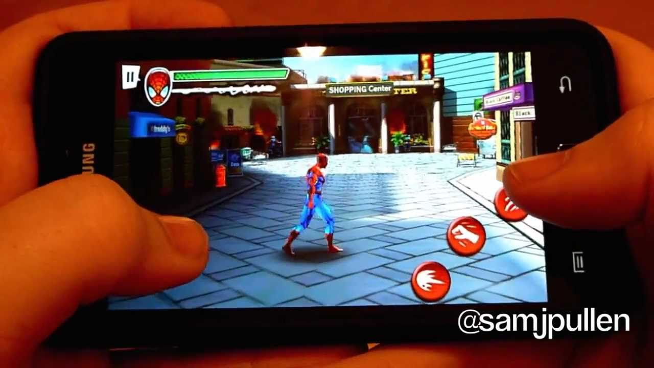 Ultimate Spider-Man Total Mayhem APK DATA HD (ALL FIX) Full Android Game