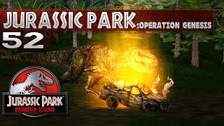 Jurassic Park: Operation Genesis - Episode 52 - Run from the TRex