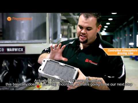 Thermaltake - Radiator Manufacture facility tour