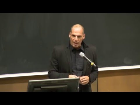 "Yanis Varufakis ""Money and Power"" Public Lecture 2015-11-04"