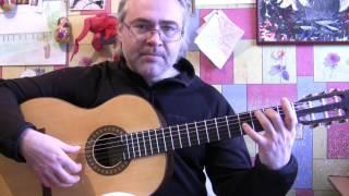 Малагенья учебное видео Уроки клас.гитары в Москве и по скайпу