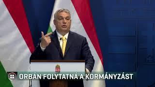 Orbán Viktor kész folytatni a kormányzást - 20-01-09