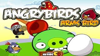 Angry Birds: Angry Birds Arms Bird Gameplay Walkthrough