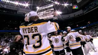 Bruins win Stanley Cup 6/15/2011 (NBC feed, 1080p) PART 2/2
