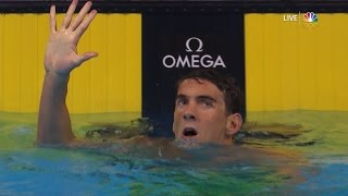 Olympic Swimming Trials | Michael Phelps Earns Spot In Rio, 5th Games