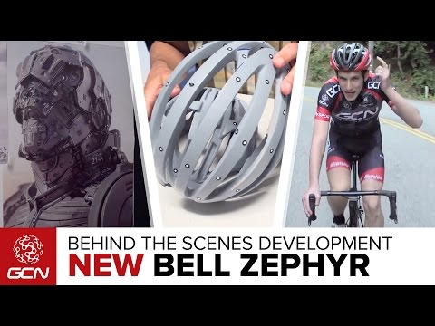 How A Road Bike Helmet Is Designed – Behind The Scenes With The NEW Bell Zephyr