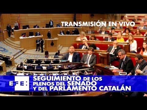 Seguimiento de las sesiones del Senado y del Parlament