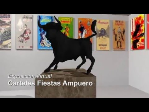 Video carteles fiestas Ampuero 3D