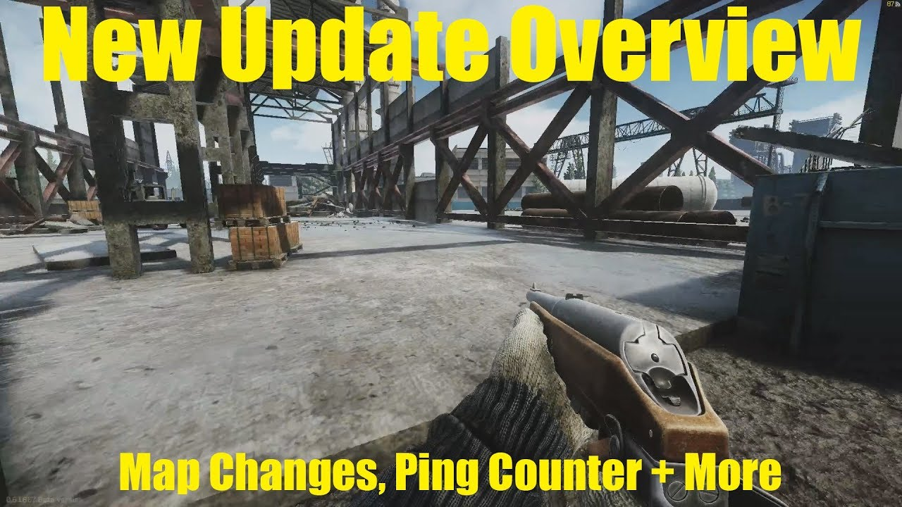 Update Overview: Map Changes, Ping Counter + More | Escape