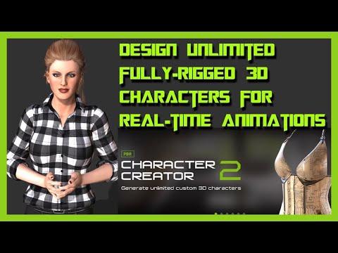 Iclone 7 Character Creator 2 - Reallusion character creator 2