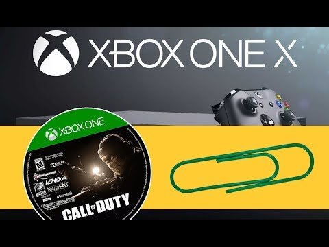 Xbox One X - Get Your Stuck Disc Out