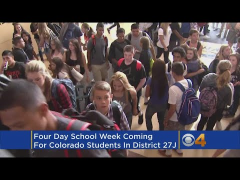 Another Colorado School District Switches To 4-Day Week