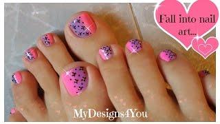 Pink Ombre Toenail Art Design ♥ Easy Pedicure