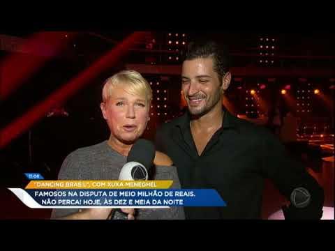 Hoje Em Dia Mostra Tudo Os Ensaios De Xuxa E Leandro Lima Para Apresentação No Dancing Brasil