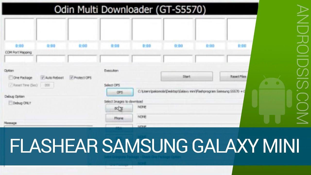 Программа для прошивки телефонов и планшетов samsung на базе.