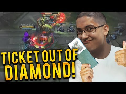 NASUS TOP VS URGOT | THIS IS MY TICKET OUT OF DIAMOND!!!! - Trick2G
