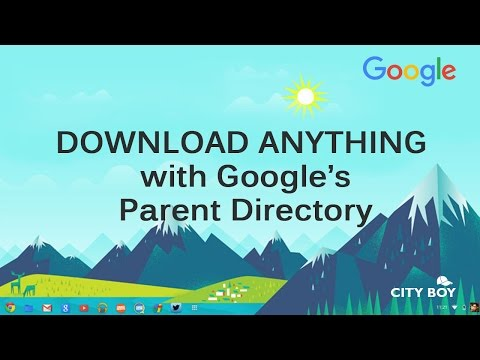 Download anything with google