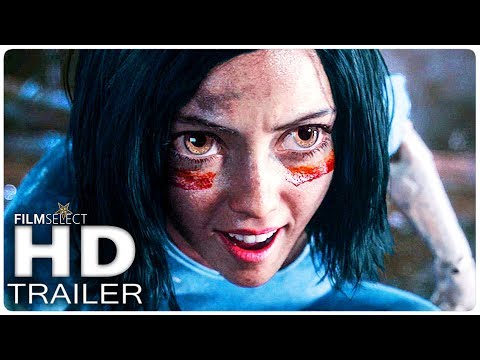 ALITA BATTLE ANGEL Trailer 2 (2018)