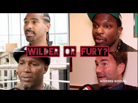 WILDER OR FURY? HAYE, HEARN, WHYTE, LEWIS, HATTON & MORE GIVE THEIR PREDICTIONS!
