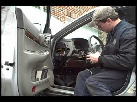 2006 Impala Headlight Wiring Diagram Alternator 2004 Chevy Multifunction Switch Removal And Replacement - Youtube