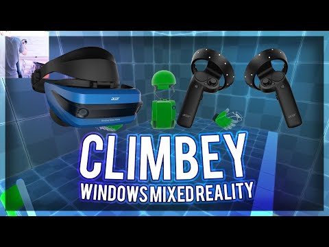 Climbey on SteamVR for Windows Mixed Reality
