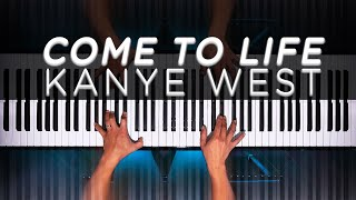 Kanye West - Come to Life (Donda Piano Cover)