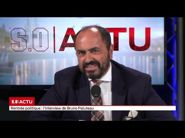 SO Invité   Rentrée politique  l'interview de Bruno Paluteau