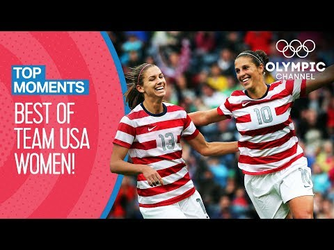 Best of Team USA Women's Football at the Olympics | Top Moments
