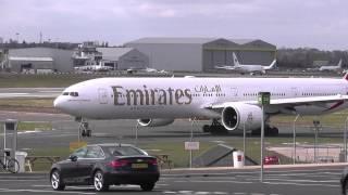 Birmingham airport inbounds 27th March 2015
