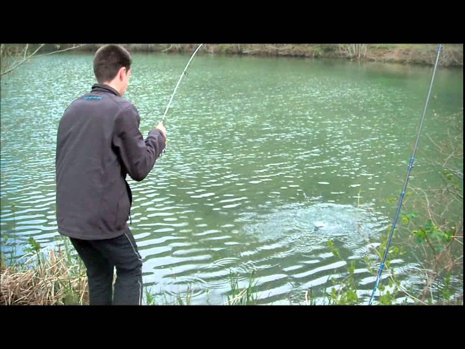 La pêche sur la rivière dnepr