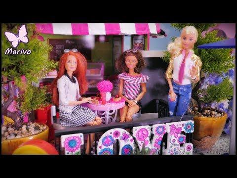 fairy tale Barbie 💙 Kamila and Jessica buy new furniture 💙 new home 💙 Furnishing 💙 fairy tale