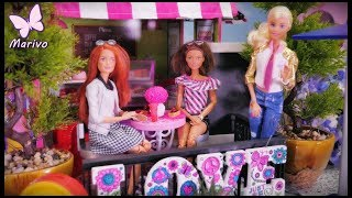 Bajka Barbie 💙 Kamila i Jessica kupują nowe meble 💙 Nowy dom 💙 Meblowanie 💙 Bajka po polsku lalki 4K