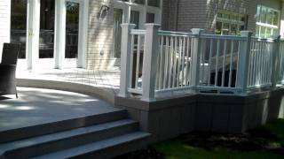 Timbertech Xlm Deck With Radiance Railing.wmv