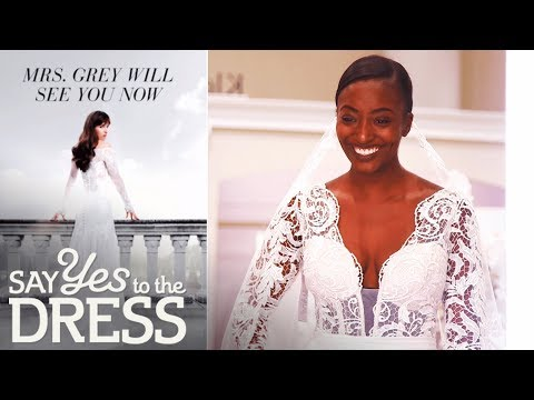 Fifty Shades Freed Inspires Bride!   Say Yes To The Dress