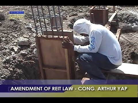 AMENDMENT OF REIT LAW   BIZWATCH