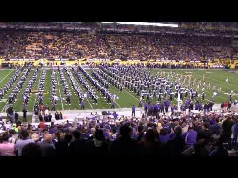 Kansas State University Marching Band Buffalo Wild Wings Bowl Pre-Game, December 28, 2013