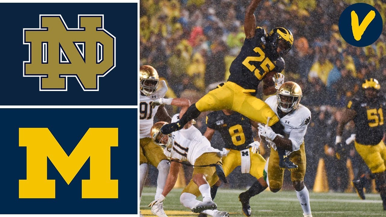 #8 Notre Dame vs #19 Michigan Highlights | Week 9 | College Football Highlights