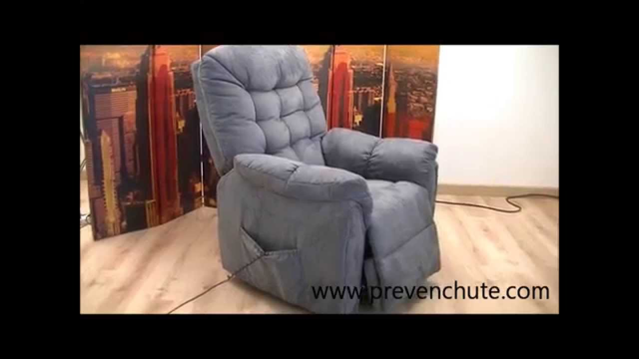 fauteuil releveur relax oxford gris prevenchue youtube. Black Bedroom Furniture Sets. Home Design Ideas
