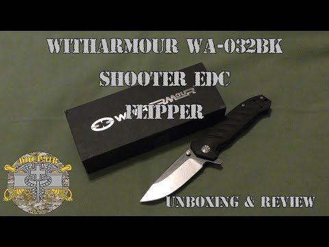 Witharmour Shooter (WA-032BK EDC Flipper – Unboxing & Review