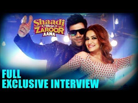 Shaadi Mein Zaroor Aana | Rajkummar Rao, Kriti Kharbanda | Full EXCLUSIVE Interview
