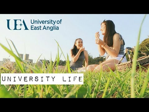 University of East Anglia || UEA VLOG X Mei-Ying Chow