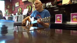 """""""La Dolly Vita"""", Billy Corgan, Smashing Pumpkins, Madame Zuzu's, 9/24/17"""