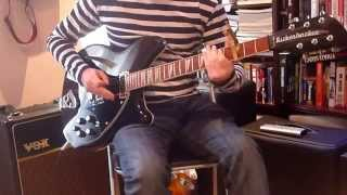 While The Song Remains The Same - Noel Gallagher (Guitar Solo Cover)