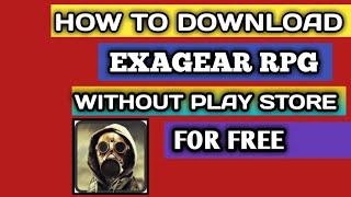 Download exagear windows emulator apk data   ExaGear RPG for