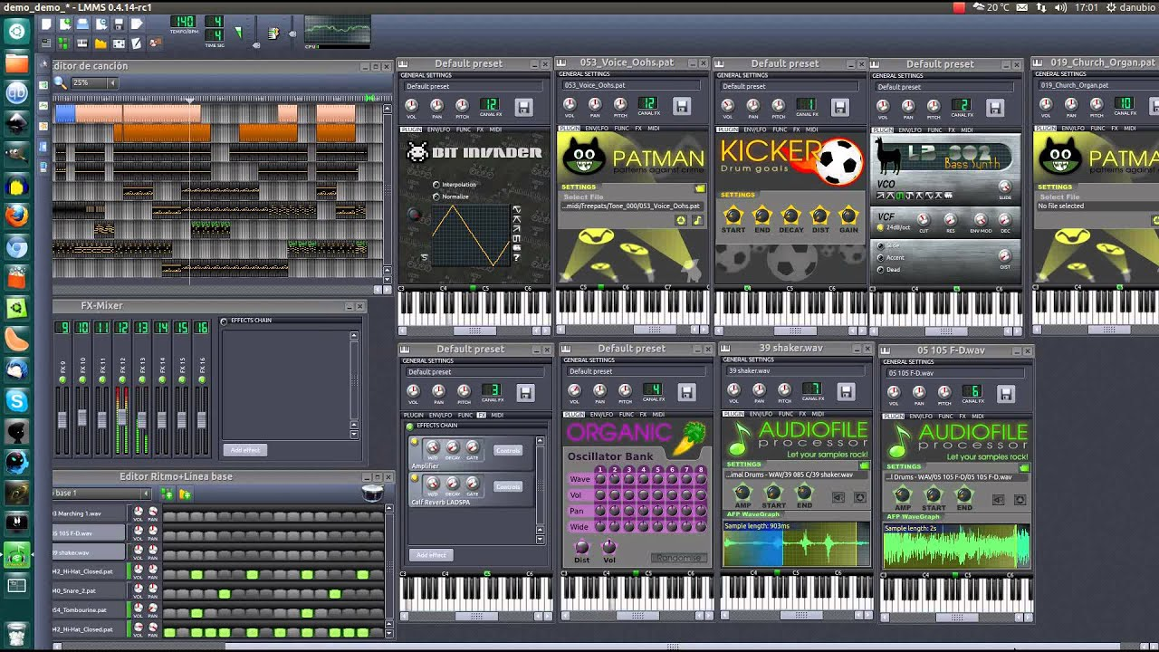 Castleland lmms 0 rc1 linux multimedia studio for Salon multimedia