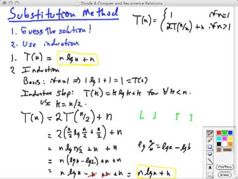 Topic 07 B Substitution Youtube