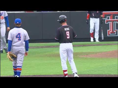 Texas Tech Baseball Vs. HBU: Highlights (W, 5-1) | 2.14.20