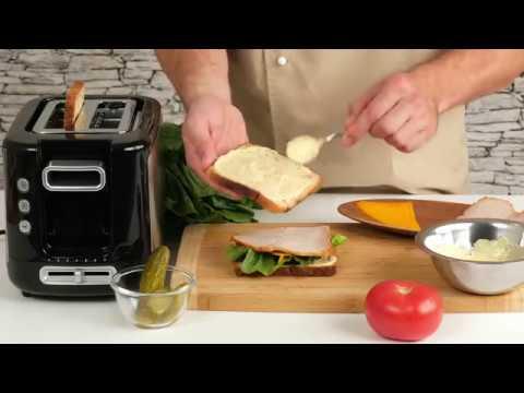 Быстрый и вкусный перекус клаб сэндвич в тостере TT 365031 New Express от Tefal