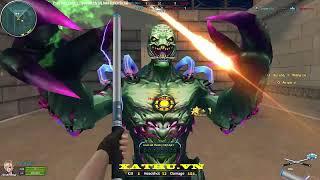 [XATHU.VN gameplay]#39:F2000 Mirage Zombie Khu Vườn Đêm VaiLinhHon