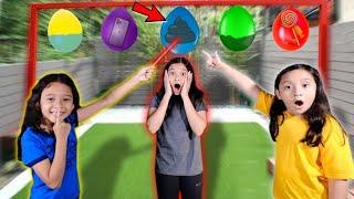 CHALLENGE Jangan TUSUK BALON Yg SALAH!!! Isinya Po*p?? **Huhu BAU😱😱***
